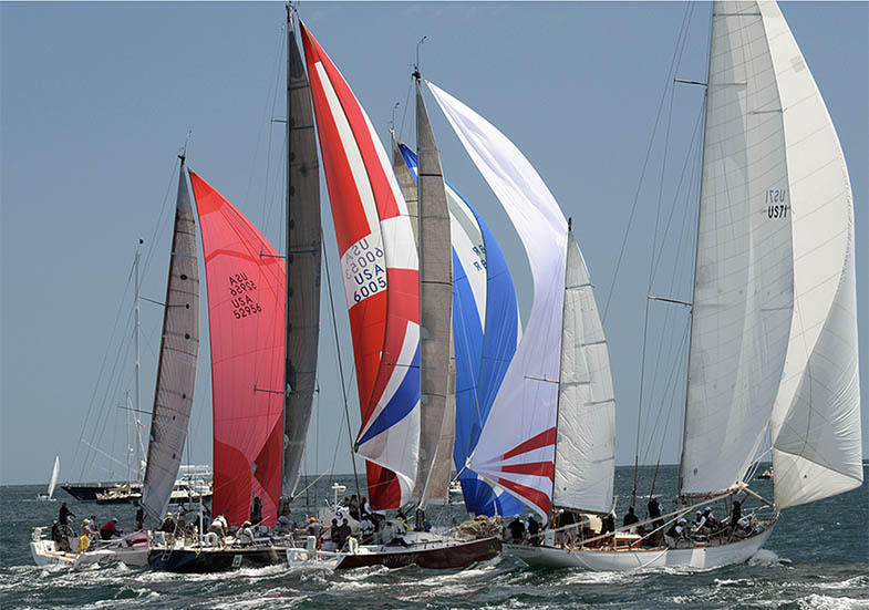 Newport Bermuda Race - Mixed Type Start